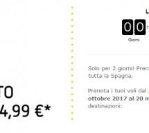 VOLA IN SPAGNA CON VUELING A PARTIRE DA 14,99 € – SOLO PER OGGI GIOVEDI 21 SETTEMBRE 2017