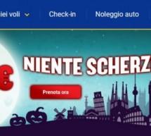 FESTA DI HALLOWEEN CON RYANAIR- BIGLIETTI A PARTIRE DA 4,99 €