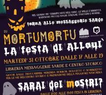 MORTU MORTU LA FESTA DI ALLOUI – MESSAGGERIE SARDE – SASSARI – MARTEDI 31 OTTOBRE 2017