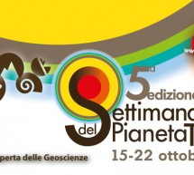 5° EDIZIONE SETTIMANA DEL PIANETA TERRA – EVENTI IN SARDEGNA – 15-22 OTTOBRE 2017