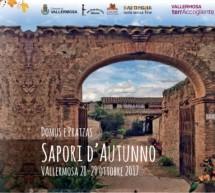 SAPORI D'AUTUNNO – VALLERMOSA – 28-29 OTTOBRE 2017