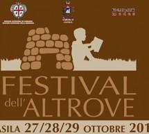 FESTIVAL DELL'ALTROVE – GUASILA – 27-28-29 OTTOBRE 2017