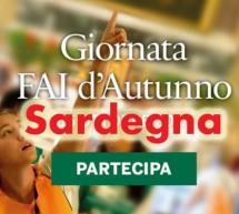 GIORNATA FAI D'AUTUNNO IN SARDEGNA – DOMENICA 15 OTTOBRE 2017
