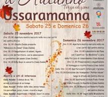 SAPORI D'AUTUNNO – USSARAMANNA – 25-26 NOVEMBRE 2017
