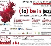 (TO) BE IN JAZZ – PALAZZO DI CITTA' – SASSARI – 3-17 DICEMBRE 2017