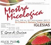 24° MOSTRA MICOLOGICA- IGLESIAS – 25-27 NOVEMBRE 2017