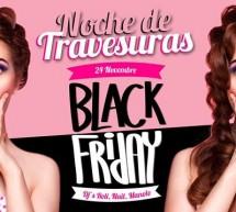 NOCHE DE TRAVESURAS – BLACK FRIDAY – COCO' DISCOCLUBBING – CAGLIARI – VENERDI 24 NOVEMBRE 2017