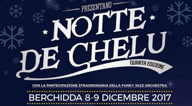 NOTTE DE CHELU – BERCHIDDA – 8-9 DICEMBRE 2017