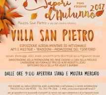 SAPORI D'AUTUNNO – VILLA SAN PIETRO – DOMENICA 26 NOVEMBRE 2017