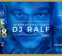 CAPODANNO 2018 – SPECIAL GUEST DJ RALF – JKO EVO' – CAGLIARI – DOMENICA 31 DICEMBRE 2017
