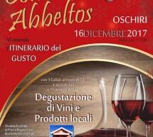 COMASINOS ABBELTOS – OSCHIRI – SABATO 16 DICEMBRE 2017