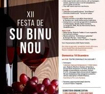 XII FESTA DE SU BINU NOU – SARDARA- 8 e 10 DICEMBRE 2017