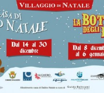VILLAGGIO DI NATALE – ALGHERO – 8 DICEMBRE- 6 GENNAIO 2018