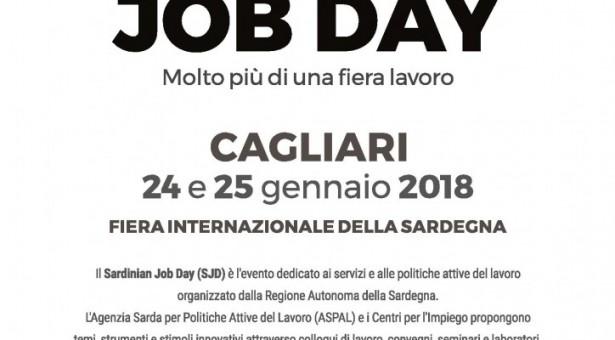 SARDINIAN JOB DAY – FIERA INTERNAZIONALE DELLA SARDEGNA – CAGLIARI – 24-25 GENNAIO 2018