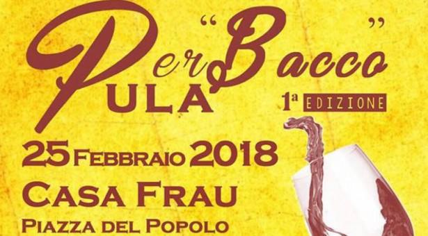 1° EDIZIONE PER BACCO – PULA – DOMENICA 25 FEBBRAIO 2018