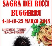 SAGRA DEI RICCI – BUGGERRU – 4-11-18-25 MARZO 2018