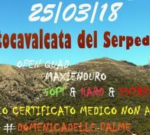 5°MOTOCAVALCATA DEL SERPEDDI' – DOMENICA 25 MARZO 2018