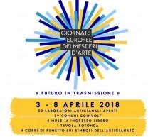 GIORNATE EUROPEE DEI MESTIERI D'ARTE IN SARDEGNA – 3-8 APRILE 2018