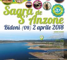 SAGRA DE S'ANZONE – BIDONI' – LUNEDI 2 APRILE 2018