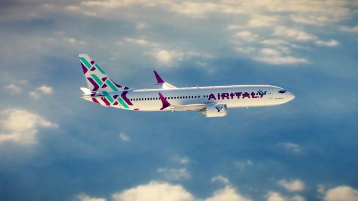 Aereo Air Italy in volo
