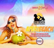 APERIBEACH – SAX BEACH – QUARTU SANT'ELENA – SABATO 21 APRILE 2018