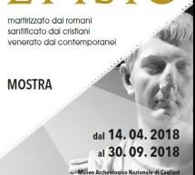 EFISIO – MUSEO ARCHEOLOGICO – CAGLIARI – 14 APRILE – 30 SETTEMBRE 2018