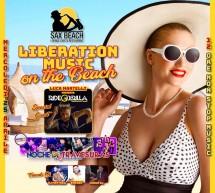 LIBERATION MUSIC ON THE BEACH  – SAX BEACH – QUARTU SANT'ELENA – MERCOLEDI 25 APRILE 2018