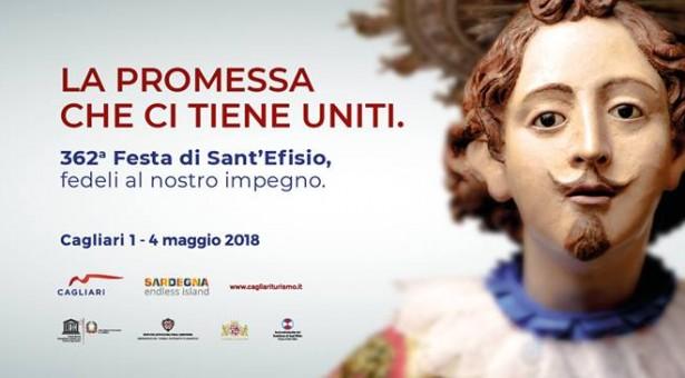 362° FESTA DI SANT'EFISIO – PROGRAMMA DI CAGLIARI E PULA – 1-4 MAGGIO 2018
