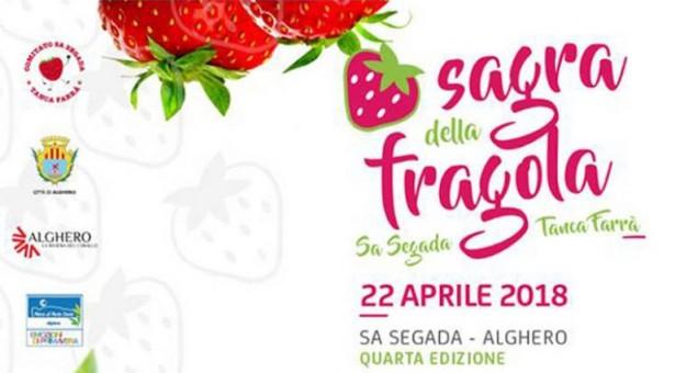 SAGRA DELLA FRAGOLA – ALGHERO – DOMENICA 22 APRILE 2018