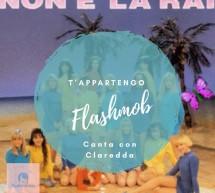 FLASHMOB PER CANTARE T'APPARTENGO DI AMBRA – POETTO – CAGLIARI – VENERDI 22 GIUGNO 2018