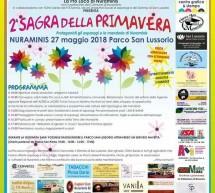 SAGRA DELLA PRIMAVERA – NURAMINIS – DOMENICA 27 MAGGIO 2018