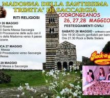 FESTA DELLA MADONNA DELLA SS TRINITA' DI SACCARGIA – CODRONGIANOS – 26-27-28 MAGGIO 2018