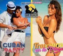 CUBAN PARTY & TRAVESURAS EN LA PLAYA – SAX BEACH -QUARTU SANT'ELENA- DOMENICA 27 MAGGIO 2018