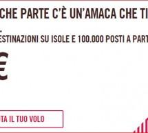 100.000 VOLI A PARTIRE DA 9 € IN TUTTA EUROPA CON VOLOTEA