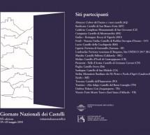 GIORNATA NAZIONALE DEI CASTELLI IN SARDEGNA – 19-20 MAGGIO 2018