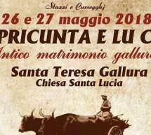 STAZZI E CUSSOGGHJ – SANTA TERESA DI GALLURA – 26-27 MAGGIO 2018