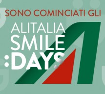 ALITALIA SMILE DAYS – ACQUISTA E VOLA A PREZZI SCONTATI FINO AL 26 GIUGNO