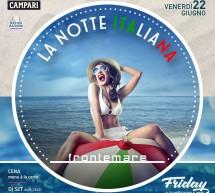 LA NOTTE ITALIANA – FRONTEMARE – QUARTU SANT'ELENA – VENERDI 22 GIUGNO 2018