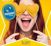 YELLOW PARTY – LIDO DISCO CLUB – CAGLIARI – SABATO 23 GIUGNO 2018