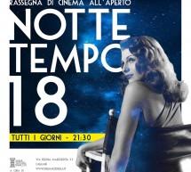 NOTTETEMPO 2018 – CINEMA ALL'APERTO – MANIFATTURA TABACCHI – DA VENERDI 29 GIUGNO 2018