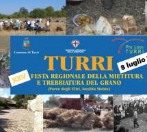 XXV FESTA REGIONALE DELLA MIETITURA E TREBBIATURA DEL GRANO  -TURRI – DOMENICA 8 LUGLIO 2018
