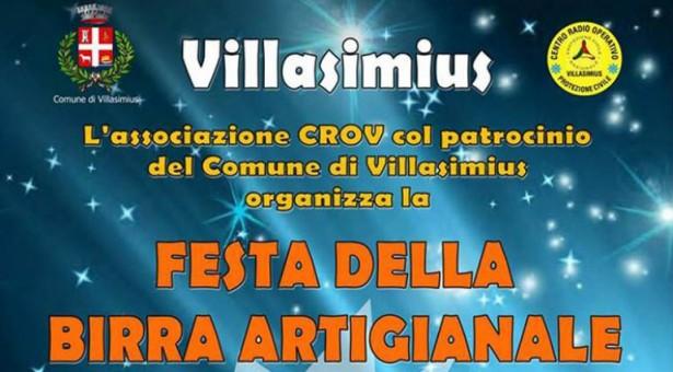 FESTA DELLA BIRRA ARTIGIANALE – VILLASIMIUS- SABATO 23 GIUGNO 2018