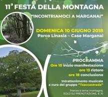11° FESTA DELLA MONTAGNA – MARGANAI – IGLESIAS – DOMENICA 10 GIUGNO 2018