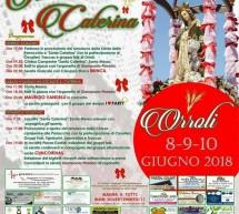 SAGRA CAMPESTRE DI SANTA CATERINA – ORROLI – 8-9-10 GIUGNO 2018