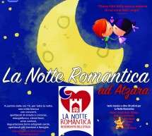 LA NOTTE ROMANTICA-  ATZARA – SABATO 23 GIUGNO 2018