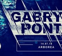 GABRY PONTE LIVE – ARBOREA – SABATO 14 LUGLIO 2018