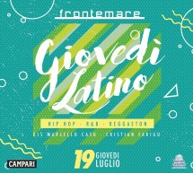 GIOVEDI LATINO – FRONTEMARE – QUARTU SANT'ELENA – GIOVEDI 19 LUGLIO 2018