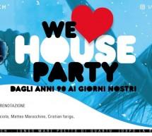 WE LOVE HOUSE PARTY – JINNY BEACH – QUARTU SANT'ELENA – VENERDI 20 LUGLIO 2018