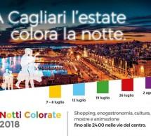 NOTTI COLORATE – LA NOTTE VERDE – CAGLIARI – GIOVEDI 19 LUGLIO 2018