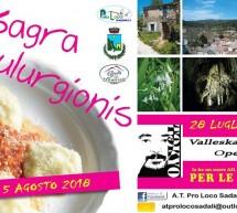XXV SAGRA DE IS CULURGIONIS – SADALI – 4-5 AGOSTO 2018